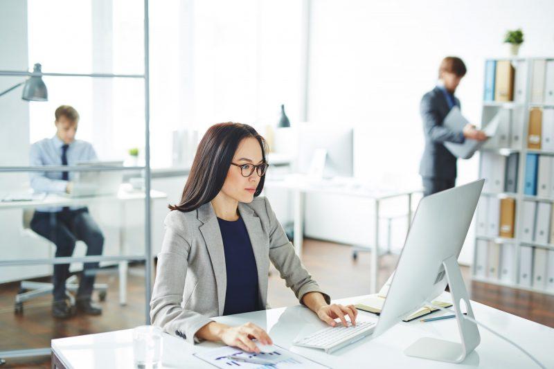 Secretary by computer